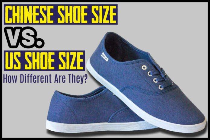 Chinese Shoe Size vs. US Shoe Size
