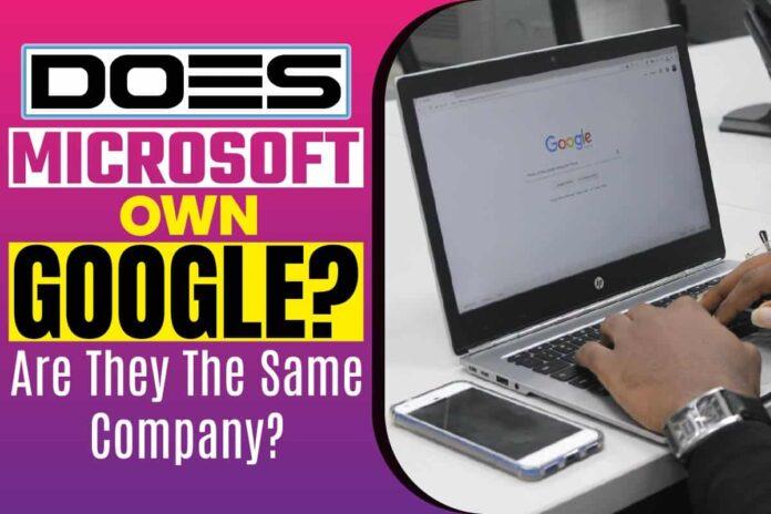 Does Microsoft Own Google..