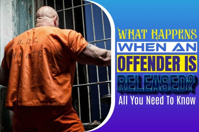 What happens when an offender is released