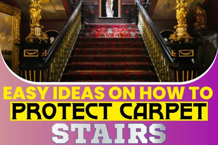 Easy Ideas On How To Protect Carpet Stairs